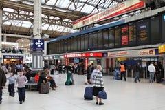 Victoria Station Imágenes de archivo libres de regalías