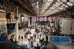Victoria Station Imagen de archivo libre de regalías