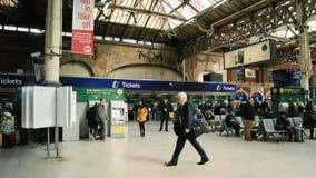 Victoria station London Arkivbilder