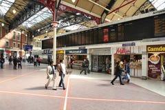 Victoria Station, Londra Immagine Stock Libera da Diritti