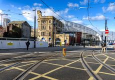 Victoria Station Manchester Großbritannien Lizenzfreies Stockbild