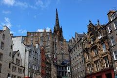 Victoria-Str. Edinburgh. Schottland. Großbritannien. Lizenzfreie Stockbilder