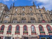 Victoria Street, Edinburgh Stock Images