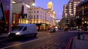 Victoria Street London evening view - LONDON, ENGLAND - DECEMBER 10, 2019