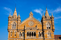 Victoria Terminus. Famous Victoria Terminus train station in Mumbai, India Royalty Free Stock Photography