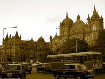 Victoria Terminus Stock Photo