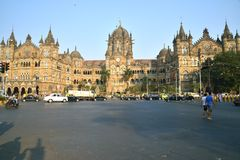 Victoria Terminus, Bombay Photos stock