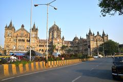 Victoria Terminus, Bombay photographie stock