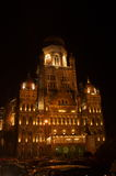 Victoria Terminus Celebration Lighting-v Royalty Free Stock Photography