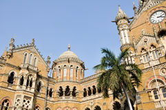 Victoria Terminus Train Station, Mumbai (India) Stock Photo