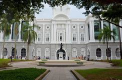 Victoria Theatre and Concert Hall, Singapore stock images