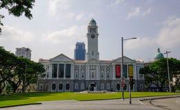 Victoria Theatre e sala de concertos em Singapura fotos de stock