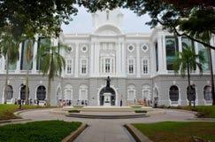 Victoria Theatre och konserthall, Singapore Arkivbilder