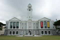 Victoria Theatre Singapore, Singapur, el 2 de marzo de 2018 imagen de archivo libre de regalías