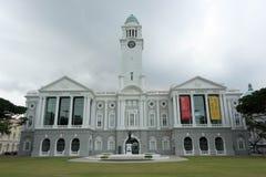 Victoria Theatre Singapore, Singapur, am 2. März 2018 lizenzfreies stockbild