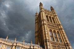 Victoria Tower Royalty Free Stock Photography