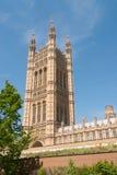 Victoria Tower de la casa del parlamento Fotografía de archivo libre de regalías