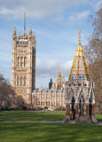 Victoria Tower Gardens Stock Photo