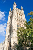 Victoria Tower in the Houses of Parliament Stock Images