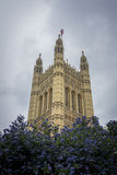 Victoria Tower, Houses of Parliament, London, UK Royalty Free Stock Photo