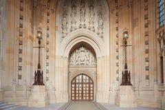 Victoria Tower inre, slott av Westminster, London Fotografering för Bildbyråer