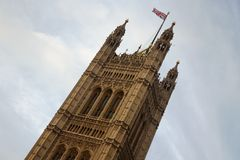 Victoria Tower in London Royalty Free Stock Photography