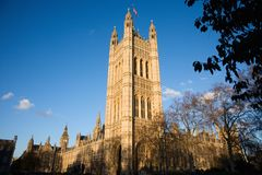 Victoria Tower in London Stock Photography