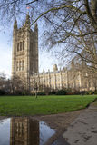 Victoria Tower of the Houses of Parliament in Lond Stock Images