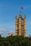 Victoria Tower in London Royalty Free Stock Image