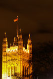 Victoria tower - London United Kingdom. House of Parliament, Victoria tower - London United Kingdom stock photography