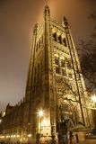 Victoria Tower at Night Royalty Free Stock Photo