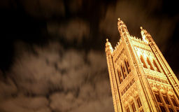 Victoria Tower, Palace of Westminster, London Royalty Free Stock Images