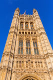 Victoria Tower of the Palace of Westminster Royalty Free Stock Images