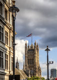 Victoria Tower, Palace Of Westminster, London Stock Photography