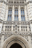 Victoria Tower, Parlamentsgebäude, Westminster; London Stockfoto
