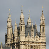 Victoria Tower seen from South Bank Royalty Free Stock Image