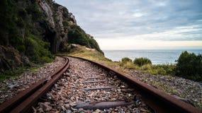 Victoria tracks stock image