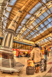 Victoria train station Royalty Free Stock Photography