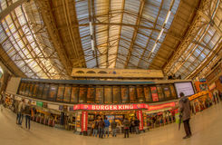 Victoria train station Royalty Free Stock Photo