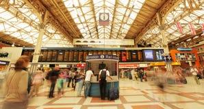 Victoria train station Stock Image
