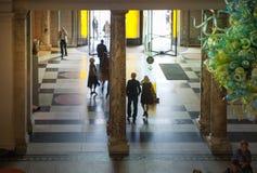 Victoria- und Albert Museum-Ausstellungshalle Stockfotografie