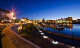 Victoria van de binnenstad, Canada Royalty-vrije Stock Foto