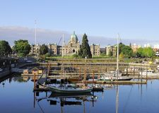 Victoria. Vancouver island. Royalty Free Stock Images