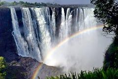 Victoria-Wasserfall Stockfotos
