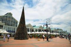 Victoria Wharf Shopping Centre in Cape Town stock fotografie