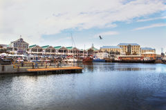 Victoria Wharf at Waterfront, Cape Town Stock Images