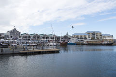 Victoria Wharf at Waterfront Cape Town Stock Images