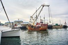 Victoria y Albert Waterfront V&A Imágenes de archivo libres de regalías