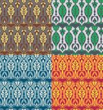 Victoriaans bloemenpatroon Royalty-vrije Stock Afbeelding