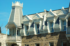 Victoriaans Huis Stock Afbeeldingen